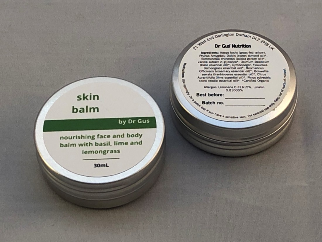 skin balm front and back